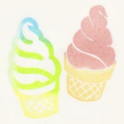 ソフトクリーム大09色見本
