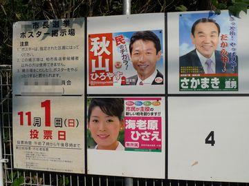市長選挙!