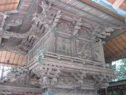 江戸彫りの本殿
