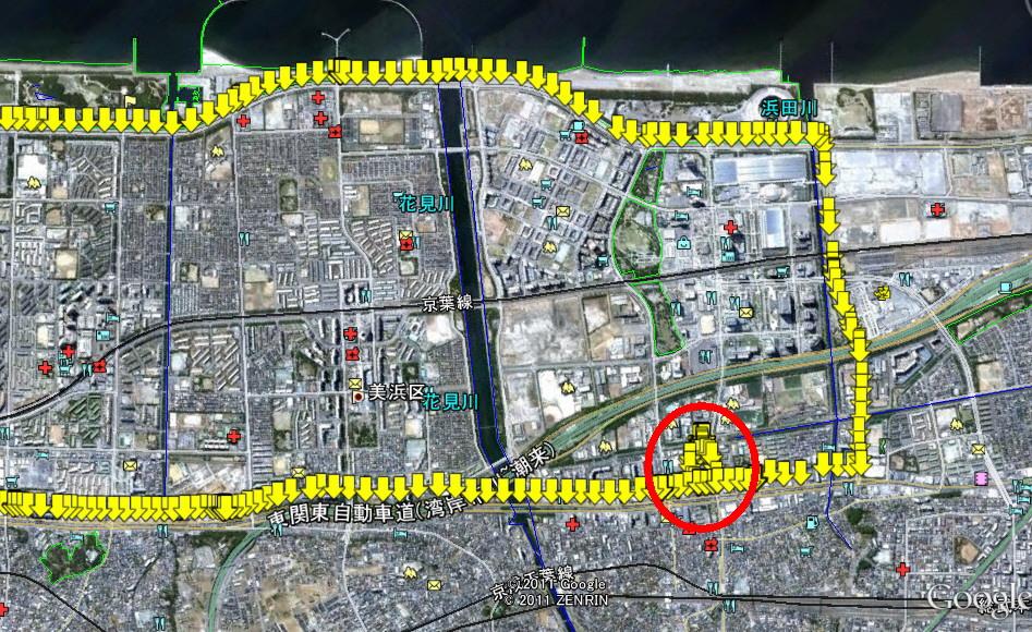 GPS車両軌道記憶装置テスト2