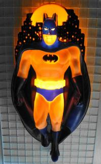 バットマン 壁掛け照明