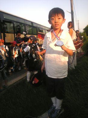 サッカー銀メダル_s