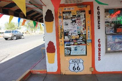 ホワンさんのアイスクリーム屋入口