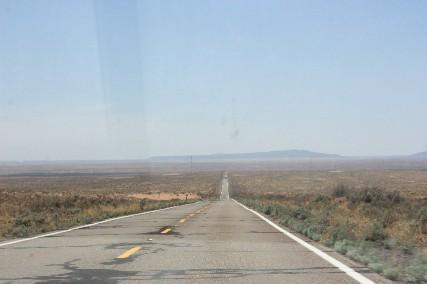 リトルペインテッドデザートからウィンスローへの道