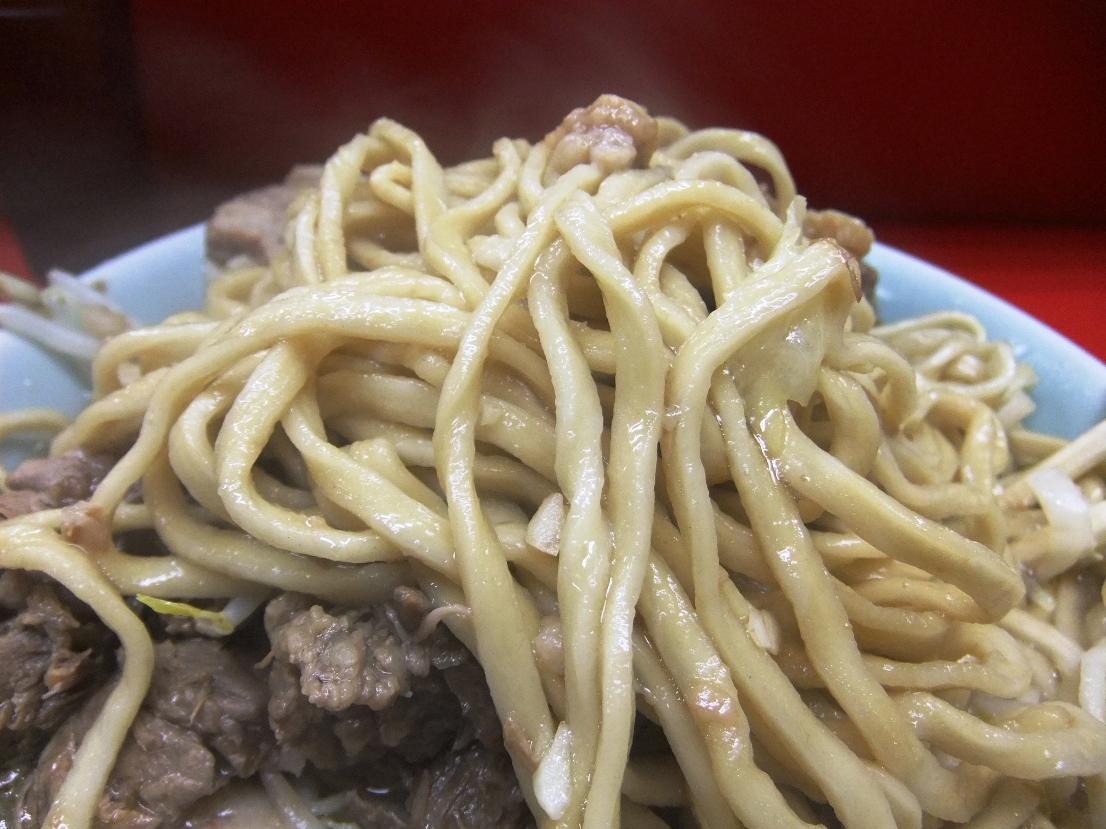 ラーメン二郎 中山駅前店:麺 11.07.24