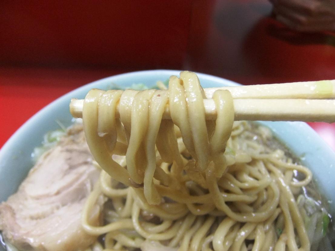 ラーメン二郎 中山駅前店:麺2 11.08.20