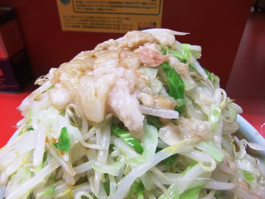 ラーメン二郎 中山駅前店:ヤサイアブラ 11.08.20