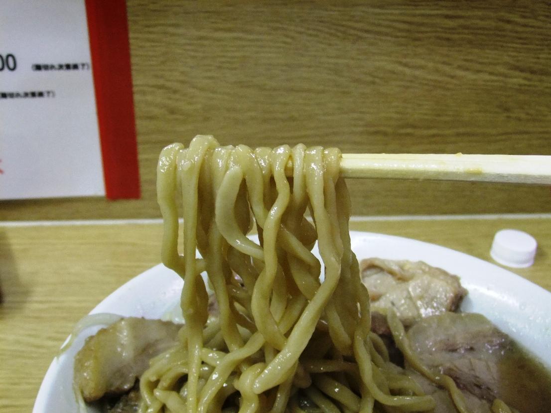 ラーメン二郎 栃木街道店:麺2 11.08.26