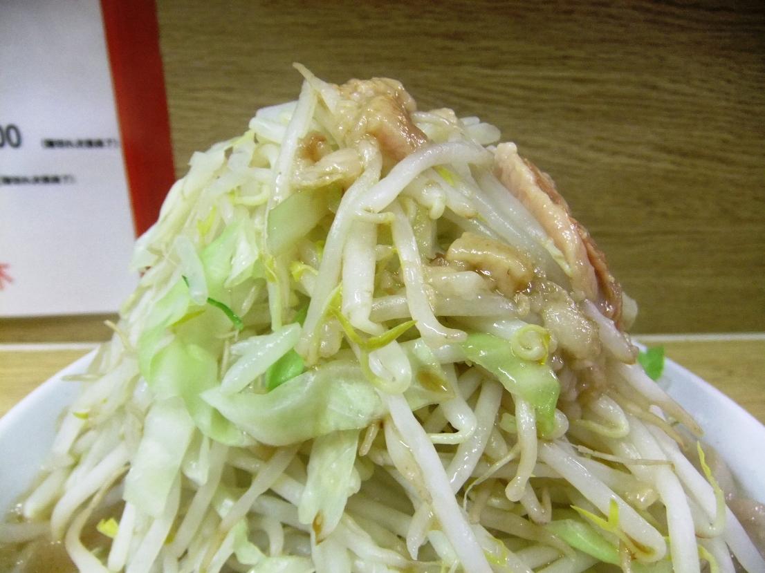 ラーメン二郎 栃木街道店:ヤサイアブラ 11.08.26