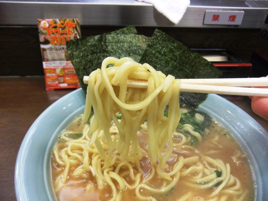 ラーメンショップ 寿々喜家:麺 11.09.09