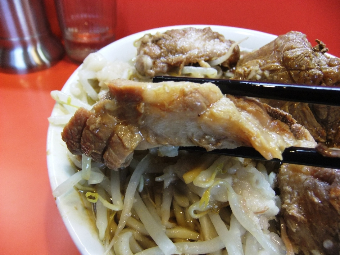 ラーメン二郎 仙川店:豚2 11.09.10