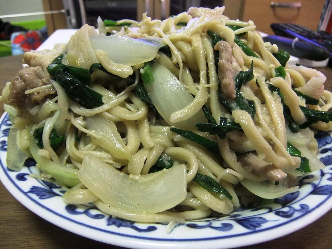 醤油焼きそば(仙川麺) 11.09.11