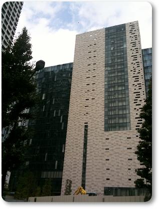 工事中な建物