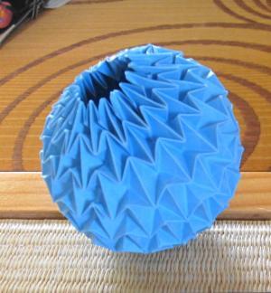 折り紙の マジックボール 折り紙 : relever798.blog62.fc2.com