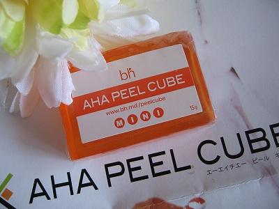 AHAピールキューブ石鹸