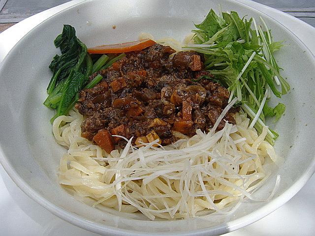 汁なしつけ麺(旨辛)@「GEN Natural Kitchen」