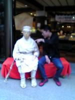 松尾芭蕉翁にツッコミを入れる私。