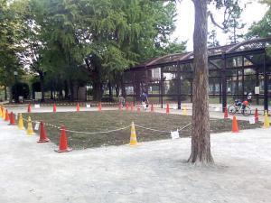 2009年9月27日の中庭