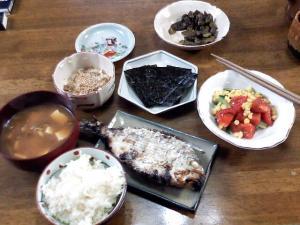日曜日の晩飯