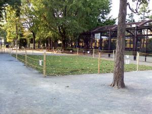 10月14日の中庭