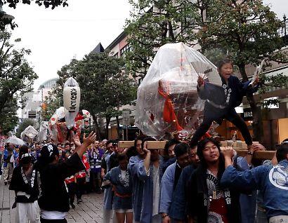 静岡みこし祭り-1