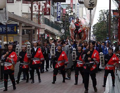 静岡みこし祭り-2