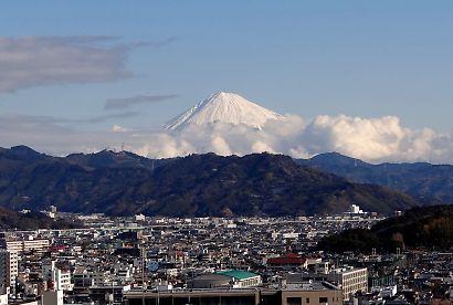 厚化粧の富士山-1
