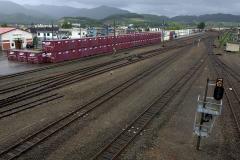富良野駅 コンテナ