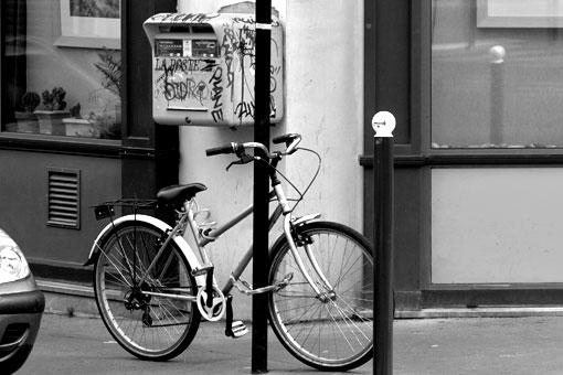 パリの自転車