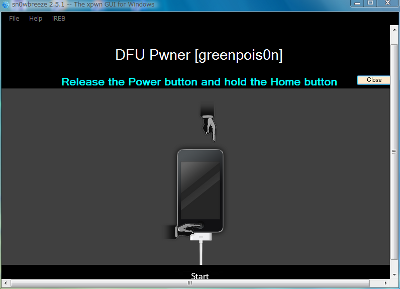 iOS4.3.1Jailbreak-sn0wbreeze-v2.5.1-Pwned DFU-4