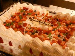 091101よしき結婚式・ケーキ