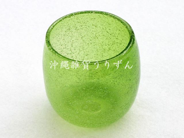 泡,たる形,グラス,緑
