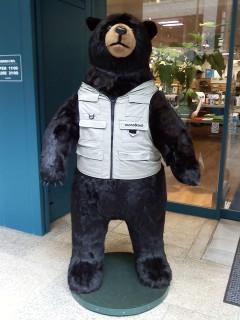 モンベルの熊さん