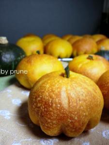 20111030かぼちゃパンbyプルーン酵母
