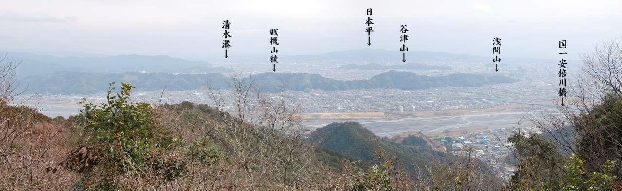 静岡市内パノラマ