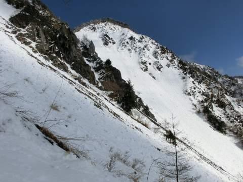 大谷嶺稜線