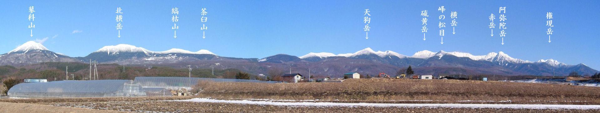 八ヶ岳パノラマ