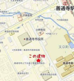 偕行舎地図