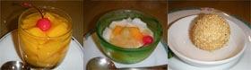 12桃華楼デザート