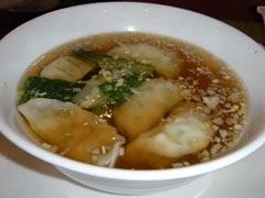 12桃華楼スープ餃子