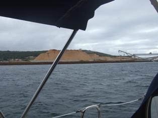 passing woodchip port