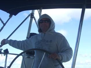 happy to sail again
