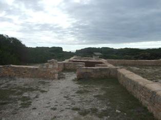 old prison ruin