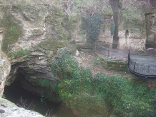cave in the town3