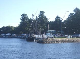replica of old ship