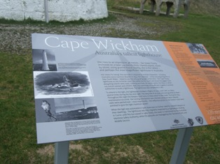cape wickham signage