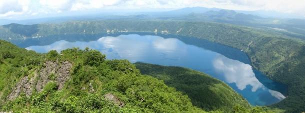 2頂上摩周湖2
