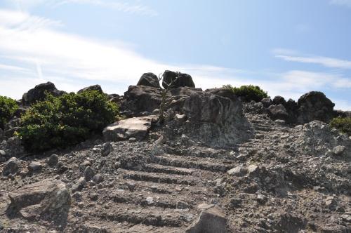微妙な階段