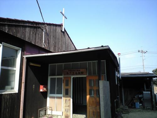 香川豊島教会入り口