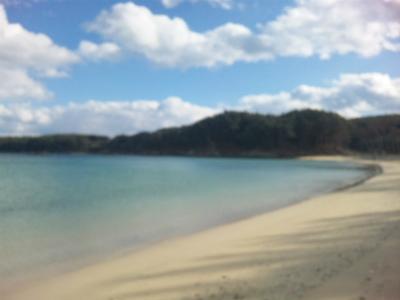 全国砂浜10選の第2位「小田乃浜」